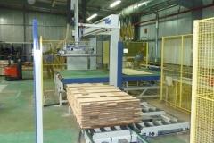 Circuit de fabrication d'une parquetterie